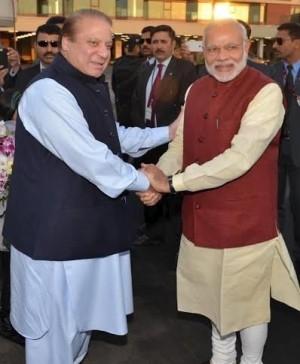 印度總理首訪巴基斯坦 兩國關係破冰
