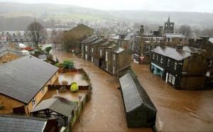 耶誕節變調!英國遭受暴雨洪災侵襲