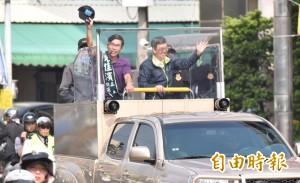 戰車掃街初體驗 大仁哥:主角是路上遇到的每位民眾