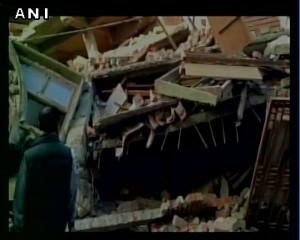 印度東北部6.7強震 至少4死、上百人受傷