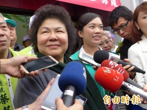 嚴拒抹黑! 陳菊:若有用台灣就不會進步