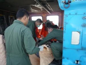 國軍直升機訓練 嘉明湖尋獲失聯登山客遺體