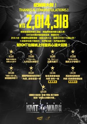 集資破關!《美麗島風雲》將登「KMT真心話」廣告