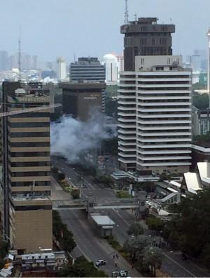 雅加達爆炸兇手疑為IS   網傳自爆影片曝光