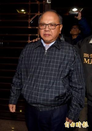 立法院秘書長林錫山涉收賄 法官裁定收押禁見