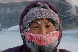 眼睫毛都結冰!內蒙古零下49.1度破紀錄