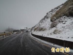 台14甲翠峰到大禹嶺 17時起封閉