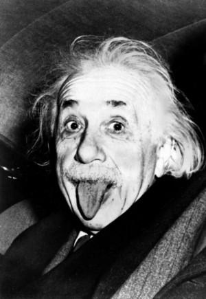 愛因斯坦「吐舌照」 版權被中企買走了!