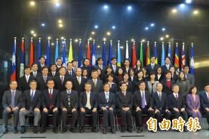 出席談判人才結訓 張善政:貨貿談判盡心盡力