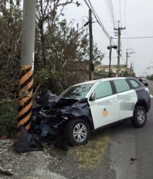 彰縣女警開警車撞死2婦人 超速釀禍