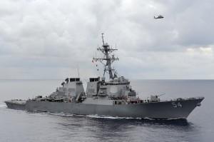 美再派艦航行西沙 挑戰台、中、越海權聲索