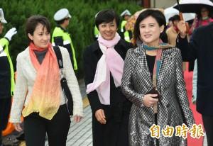 民進黨S.H.E齊走紅毯 感恩再回立院續為台灣奉獻