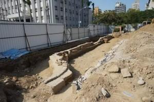 中一中挖到舊校門遺跡 市府列暫定古蹟