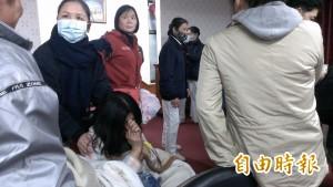 台南永康災民收容所成立 災民:終於看到太陽了