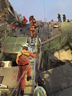 宜蘭消防局支援台南 副縣長進駐應變中心