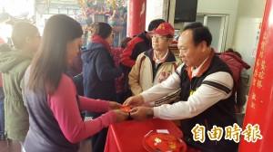 東林福德廟發錢母 捐20萬元給台南賑災