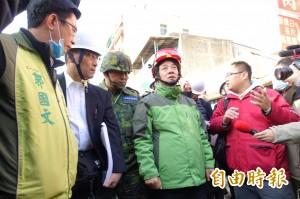 日本協助捐款  賴清德:台南會盡快重建家園