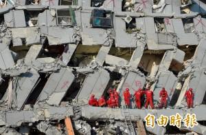 悼念震災罹難者 總統府15日降半旗