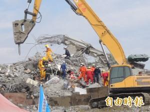 再發現多具遺體 南台大震累計67死、57待救