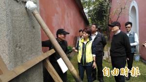 台南古蹟震損 文化部長允撥經費全力修復