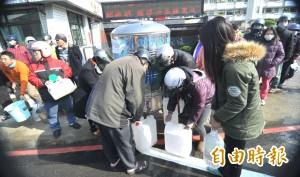 台南停水區域 賴清德:力拚今晚12時恢復供水