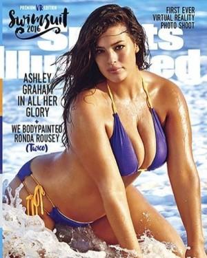 身材不夠完美的她 登上《運動畫刊》泳裝特輯封面