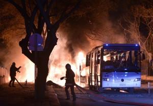 土耳其首都遭汽車炸彈攻擊 至少28死61傷