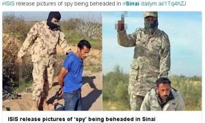 IS逮捕間諜 上傳斬首照到推特