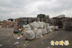 回收價大跌 資源垃圾沒人要 清潔隊頭疼