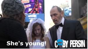 12歲少女與65歲男子拍婚紗 路人紛紛挺身而出