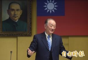 不滿轉型正義 郁慕明諷乾脆把故宮國寶還給中國