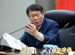 蔡正元為塞車問題酸柯P  網友嘆:只有立場沒有是非...