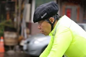 騎自行車首度PO文! 一張照展現柯P的態度
