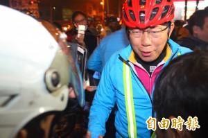 雙塔挑戰後 柯P嗡嗡嗡搭高鐵回台北處理市政