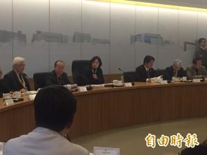 跟綠能廠商座談 小英宣布新政府四大積極投入主軸