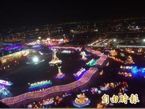 台灣燈會開園時間 4日、5日延長到晚上12點
