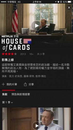 Netflix用戶要的《紙牌屋》 終於來了!
