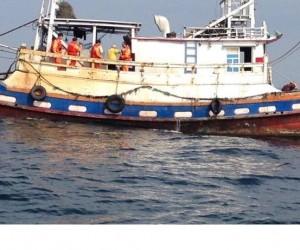 惡劣!近岸拖網捕撈 澳底逮獲一漁船