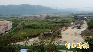 強鹼爐渣藏石門水庫!10公頃土地遭汙染
