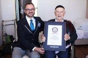 挺過納粹大屠殺 112歲以色列阿公被認證「世界最長壽」