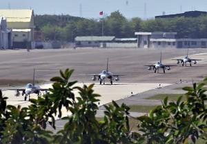 中國南海造島 台美軍事交流增溫