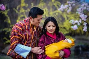 最幸福國度愛地球! 不丹小王子滿月 植樹10萬8千棵