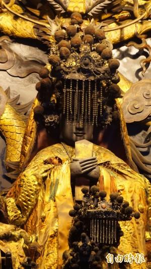 大里杙福興宮「軟身媽祖神像」 升級國家重要古物