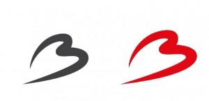網友製圖為比利時祈福 機場Logo從紅色變灰色