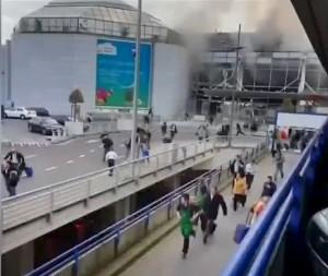 布魯塞爾恐攻釀34死 大眾交通停擺