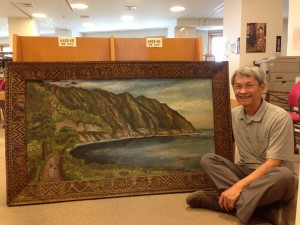 陳澄波畫作 85年後重現日本地下室