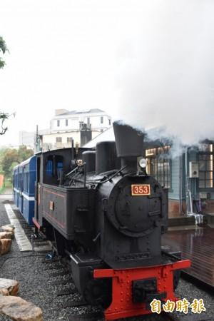 旗山車站「有站無車」 台糖老蒸汽火車頭重出江湖