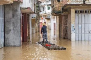 中國南方連日大雨 廣東、江西均傳傷亡