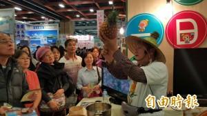 高雄「一日農夫」首挑戰台北國際旅展 王牌導覽搶客爆滿