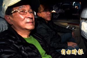 陳水扁過年與小英面談後 傳訊友人透露特赦機會低